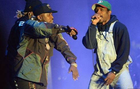Outkast performs at Coachella April 12, 2014 in Indio, CA. PHOTO: Getty Images