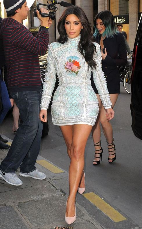 Kim Kardashian PHOTO: E! News