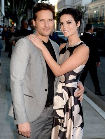 Actor Peter Facinelli and fiance', actress Jaimie Alexander. Credit: Getty Images